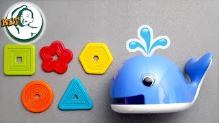 """Learn shapes for kids with """"Feed the Whale"""""""