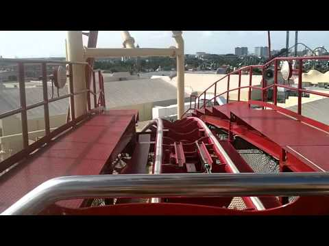 Hollywood Rip Ride Rockit Front Row POV Hidden Tracks [HD]