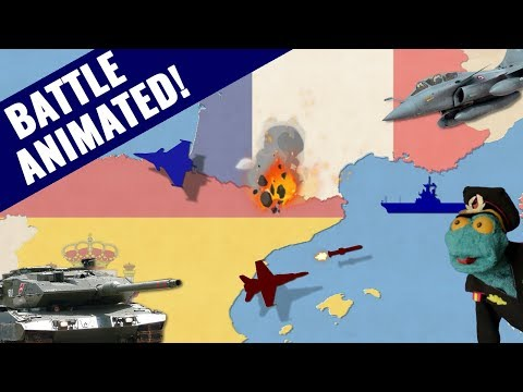 Could the French military defeat Spain?