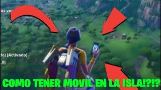 NEW BUG*** GO TO FORTNITE ISLAND WITH FORTNITE MOVIL (BATTLE ROYALE)
