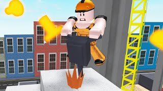 Roblox | Escape The Evil Construction Site! | Escaping Evil Bosses!