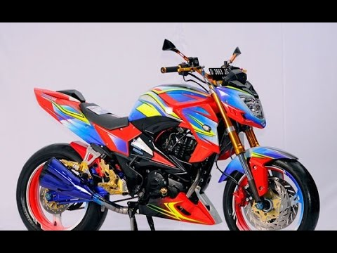 Cah Gagah | Video Modifikasi Motor Yamaha Byson Airbrush Keren Terbaru