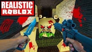 Realistic Roblox - ROBLOX SURVIVE THE ZOMBIE APOCALYPSE | ROBLOX ZOMBIE ATTACK