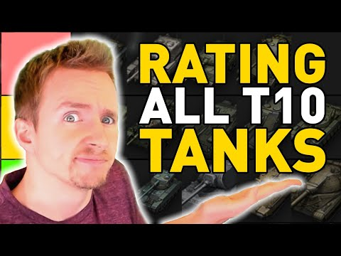 Rating All Tier 10 Tanks In World Of Tanks Youtube