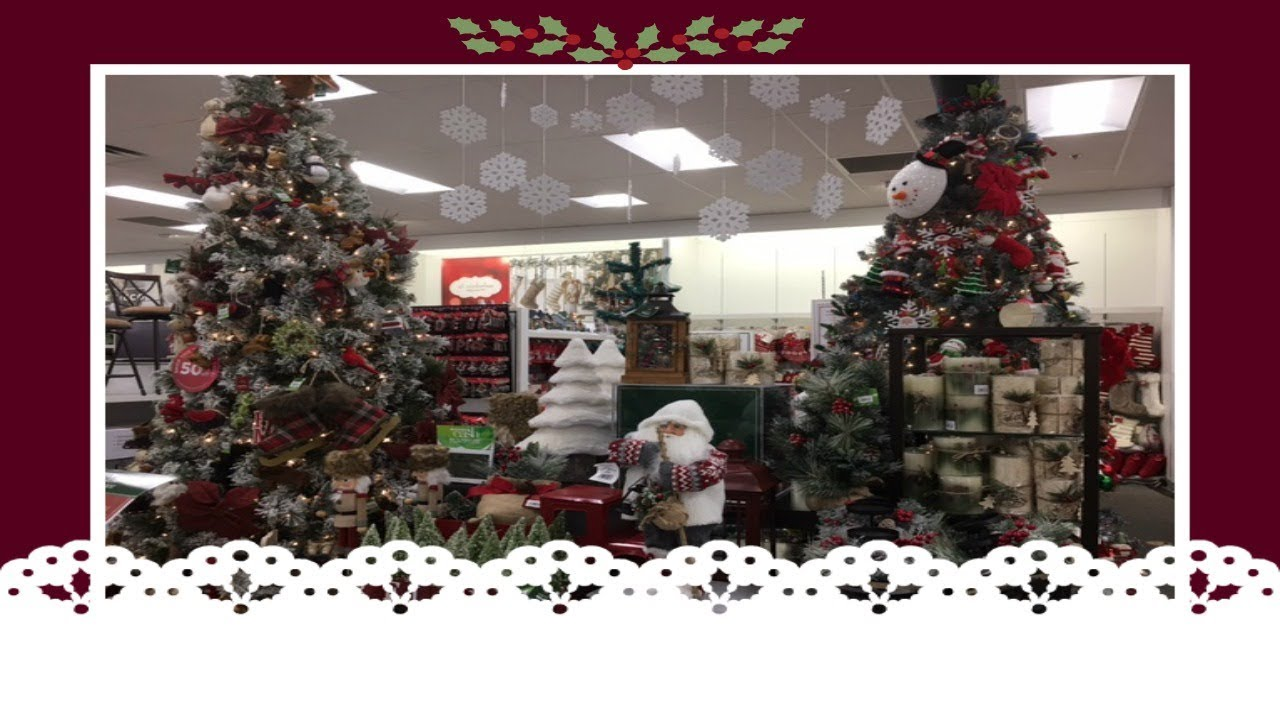 christmas decor shopping at kohls pt 1 2017