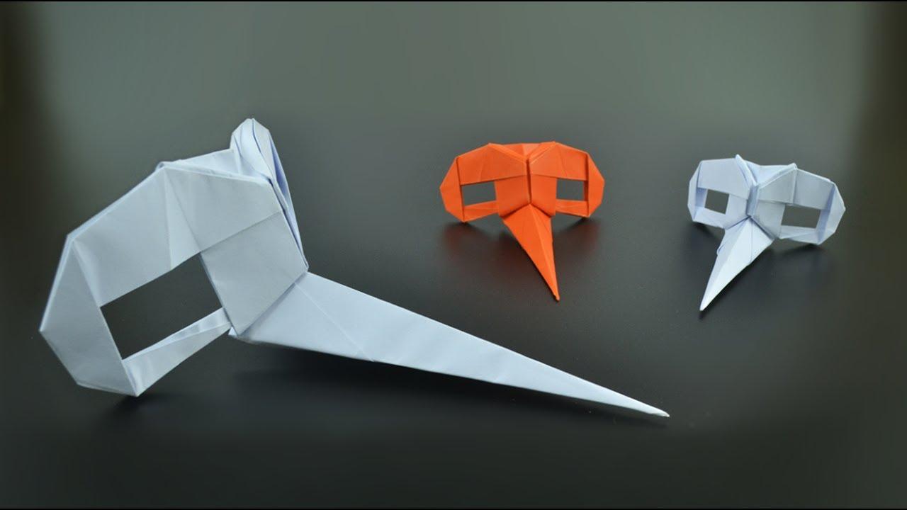 Origami Dr Parnassus Mask Riccardo Foschi