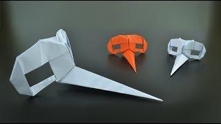 Origami: Dr. Parnassus Mask (Riccardo Foschi) - Instructions in English (BR)