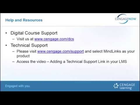 CengageNOW: Creating Your Course in Angel