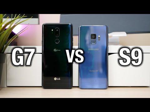 Samsung Galaxy S9 vs LG G7 ThinQ - Tough comparison | Pocketnow