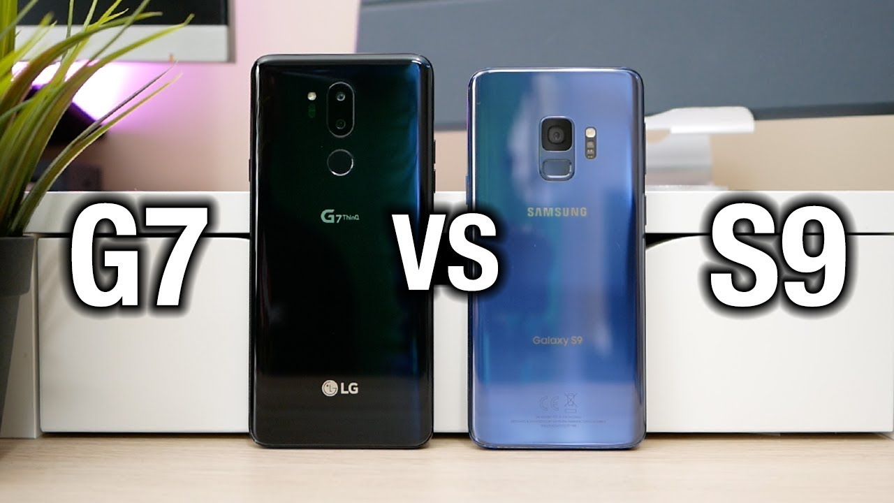 Samsung Galaxy S9 Vs Lg G7 Thinq Tough Comparison Pocketnow