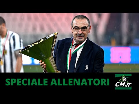 Maurizio SARRI è pronto a tornare ad allenare in SERIE A!