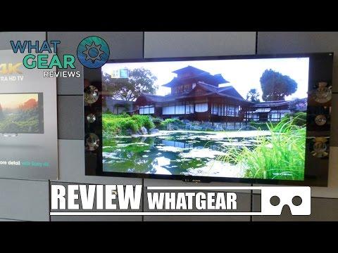 SONY - X9005B 4K BRAVIA - 2014 LED TV - WhatGear Review