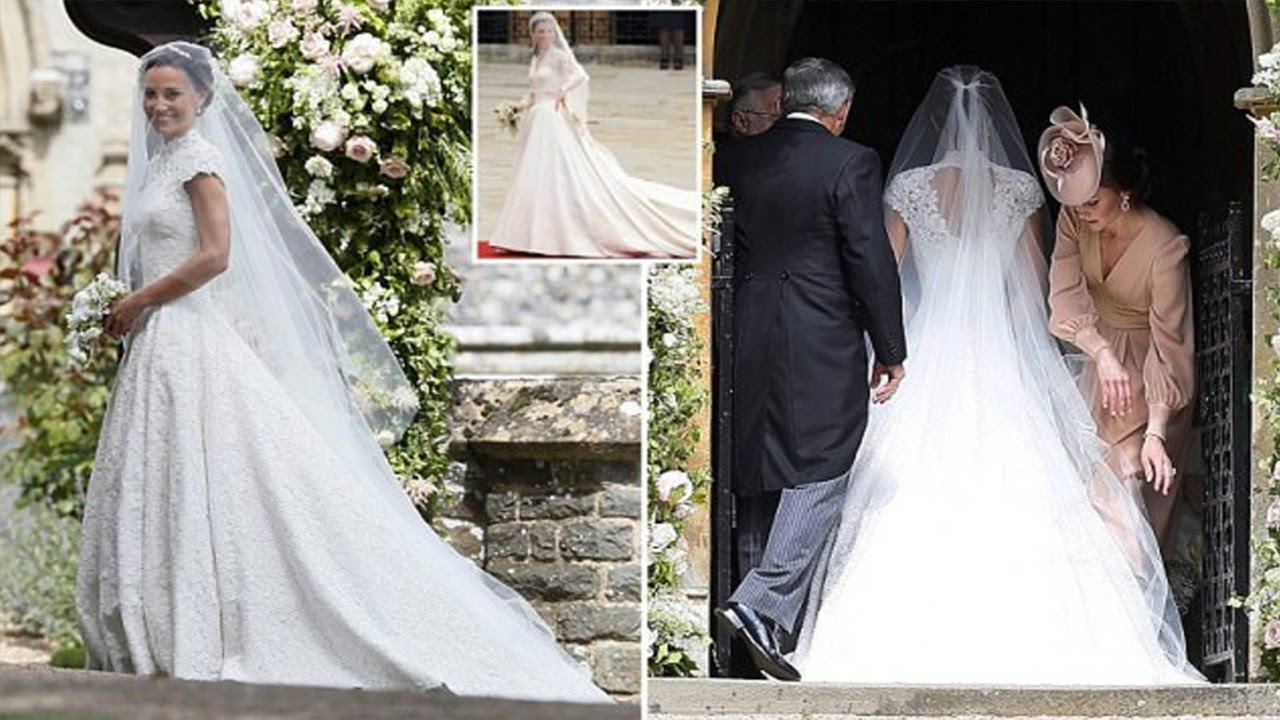 Pippa middleton picks kendall jenner 39 s designer giles for Giles deacon wedding dresses