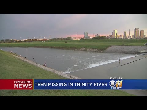 Teen Believed To Have Drowned In Trinity River
