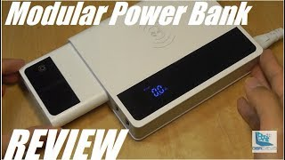 REVIEW: Modular 2-in-1 Charging Hub + Wireless Power Bank!