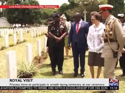 Royal Visit to Ghana on Joy News (4-4-17)