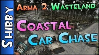 Day Z & ARMA - WASTELAND - Coastal Car Chase & Highway Massacre