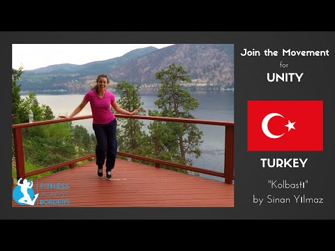 Dance Fitness SIMPLE KOLBASTI TUTORIAL Turkey