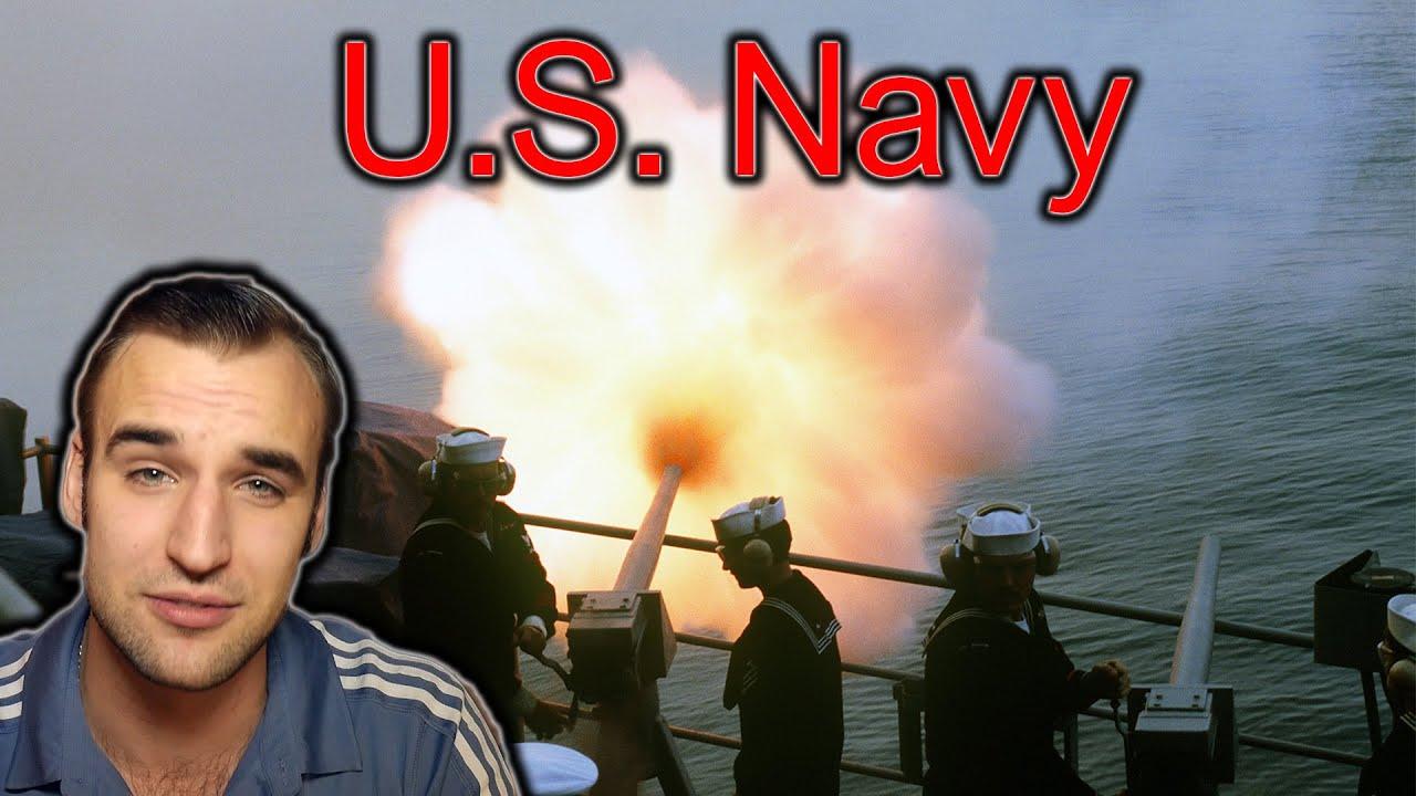 U.S. Navy Sailor Boot camp - Estonian Soldier reacts