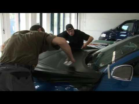 Nato Oliv Com Folie Statt Lack Car Wrapping Youtube