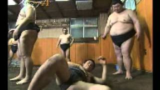 横綱白鵬誕生の秘密はここにあった。 白鵬翔役:松浦慎一郎 UZU企画.