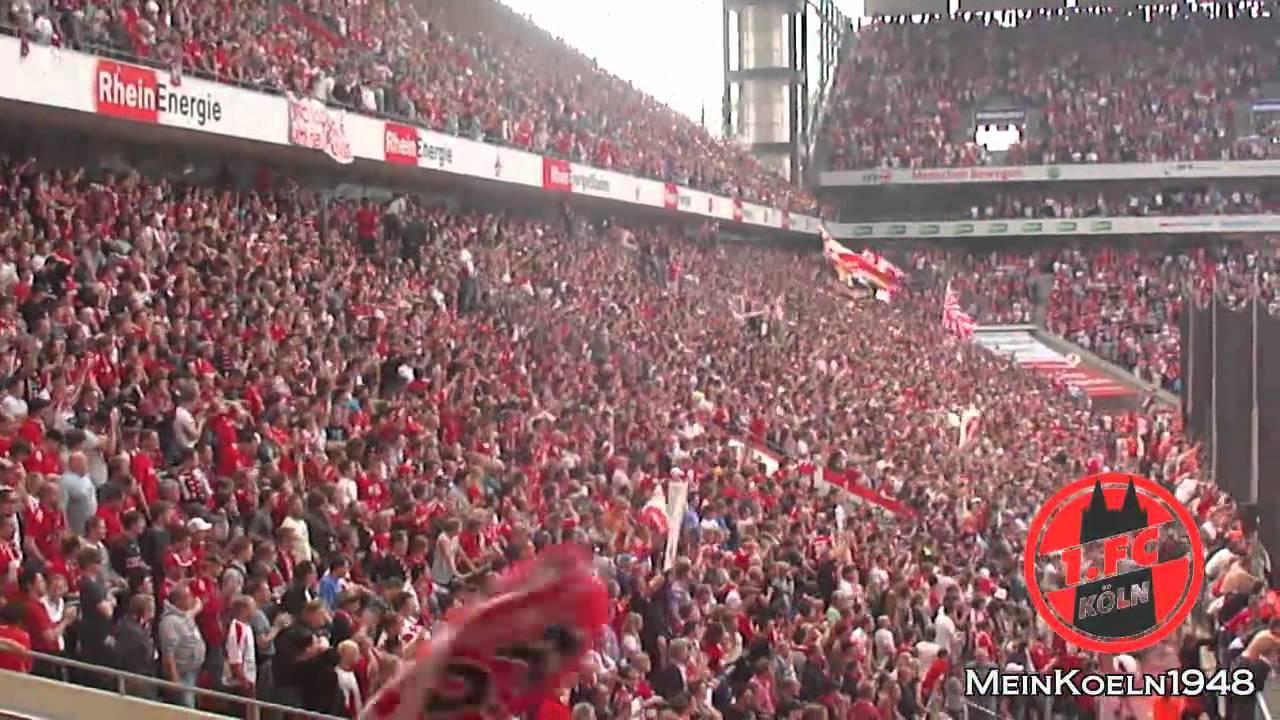 1FC Köln  Torjubel gegen Bayer 04 Leverkusen  YouTube