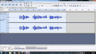How To Apply Noice Gate, Delay, Reverb In audacity win 2.2.2 Latest Version
