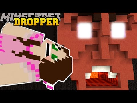 Minecraft: SPOOKAY HOUSE! - TALLCRAFT DROPPER - Custom Map [7]