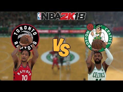 NBA 2K18 - Toronto Raptors vs. Boston Celtics - Full Gameplay