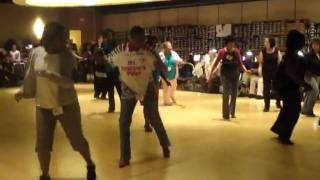 CHUCK BABY Soul line dance at Windy City line dance event 2009