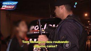 Namorada de ladrão grita com policial e acaba atrás das grades