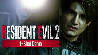 Resident Evil 2: Remake - 1 Shot Demo Release Date & Trailer | Ps4, Xbox & Pc