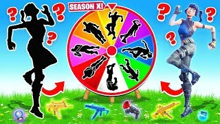 SEASON 10 *MYSTERY* Emote WHEEL in Fortnite Battle Royale