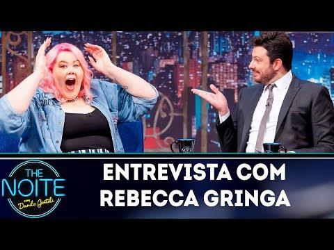 Entrevista com Rebecca Gringa  The Noite 260419