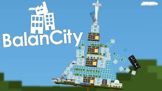 BalanCity Gameplay - Jenga Meets City Building! (BalanCity Beta)