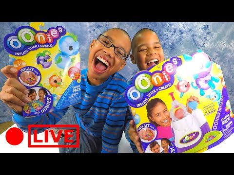 Oonies Sticky Bubble Balloons for Kids Play Toys Craft DIY Starter Pack Review