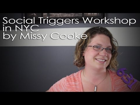 Social Triggers Workshop in NYC by Missy Cooke