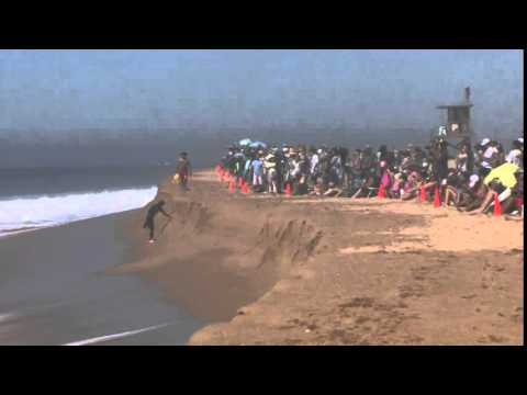 High surf video from Malibu, Calif.
