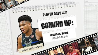 12/19/2019: Watch Giannis Antetokounmpo & the Bucks epic battle vs. the Lakers in Full