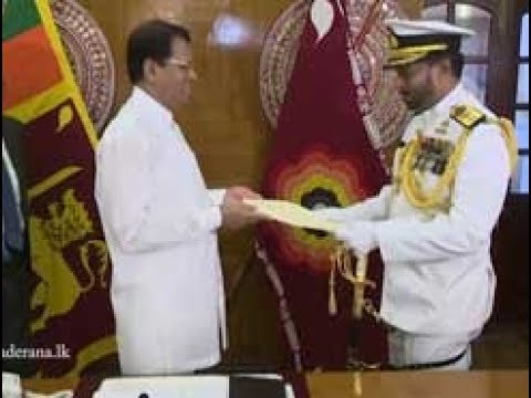 Appointment of new Navy Commander (English)