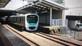 西武30000系30105F急行西武新宿行き狭山市駅(SS-26)発車 Exp Train For Seibu-Shinjuku(SS-01)