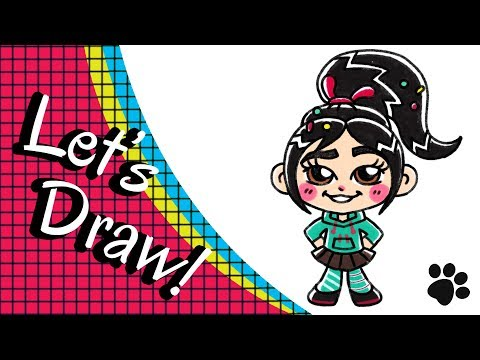 How To Draw Wreck It Ralph Step By Step Cute And Easy Easy
