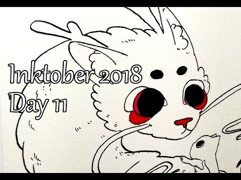 Inktober. Day 11. Dragon