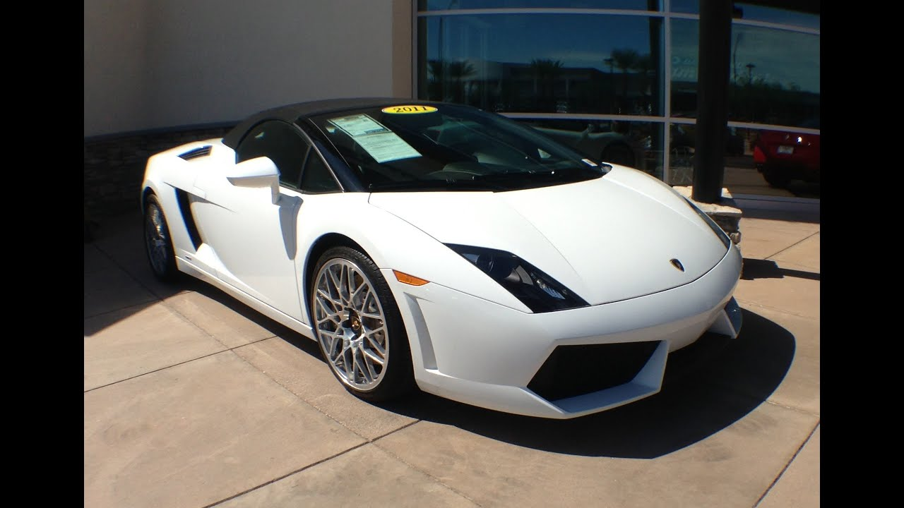 Elegant 2011 Lamborghini Gallardo LP560 4 Spyder, For Sale At Scottsdale Bentley    YouTube