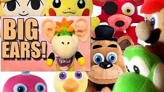 SML Movie: Big Ears! Mario And Freddy's Reaction (Guests:Pikachu,Yoshi,Link,Mr Cupcake,Foxy & Chica)