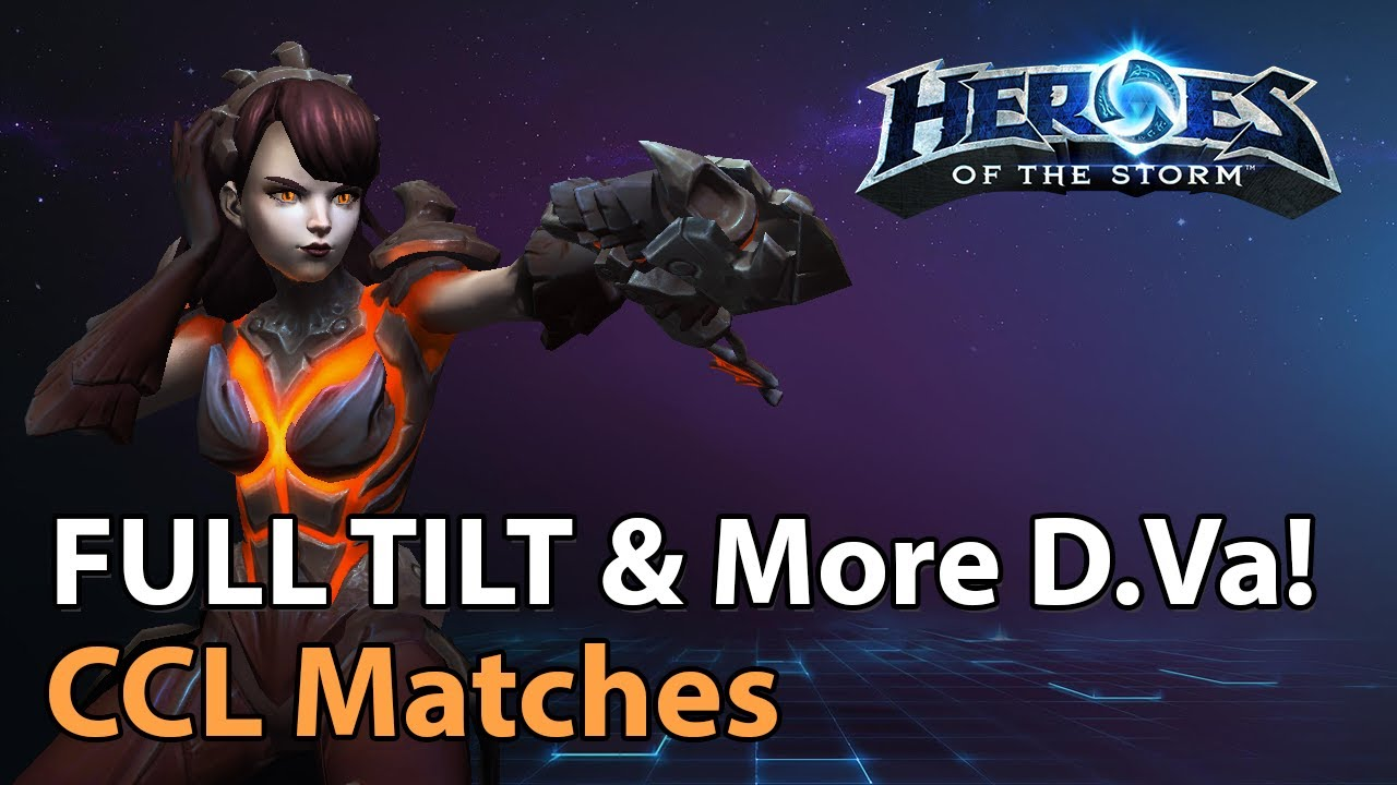 ► FULL TILT & more D.VA! - Heroes of the Storm Esports