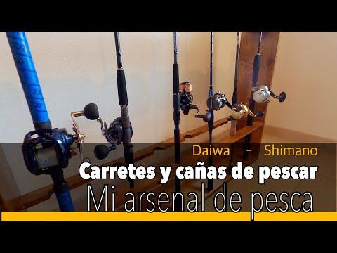 Mi Pequeño Arsenal: Cañas Y Carretes Para Pesca Desde Kayak.