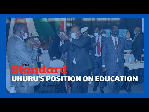 President Kenyatta: We should focus on how schools will reopen not when