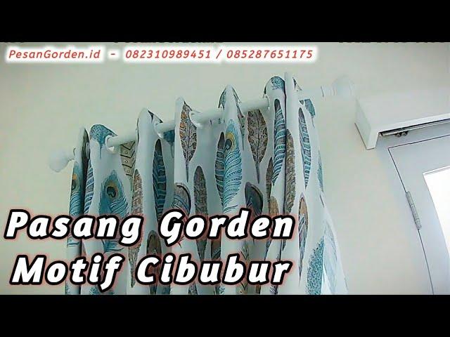 Pasang Gorden Motif Blackout Di Cibubur 0823 1098 9451 #gorden #tutorial