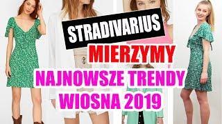 MIERZYMY STRADIVARIUS | NAJNOWSZE TRENDY Z SIECIÓWEK WIOSNA 2019